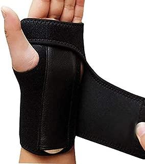 Finger Splint Carpal Tunnel Syndrome Protection Wrap Gym Sports Bandage Orthopedic Hand Brace Wrist Support - Soporte para Mano y Muñeca Muñequera Abrazadera (Left Hand (Izquierda))