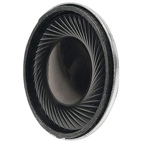 Visaton K 28WP–Loudspeakers (300–20000Hz, Black, Tv/Monitor Speakers, 28x 28x 5.5mm)