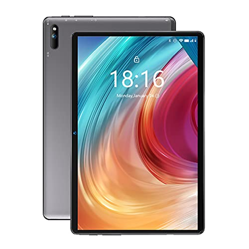 2021 nuovo modelloBMAX Tablet 10 pollici I10 Android 10.0 con 4G LTE,Octa-Core 1.8GHz,4GB+64GB,1920 * 1200 FullHD IPS,2MP+5MP Doppia Fotocamera,WIFI Cellulare GPS Dual Speaker 6000mAh Batteria