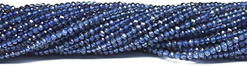GemAbyss Beads Popular Gemstone Water Sapphire Dealing full price reduction Micro Iolite Faceted Blue