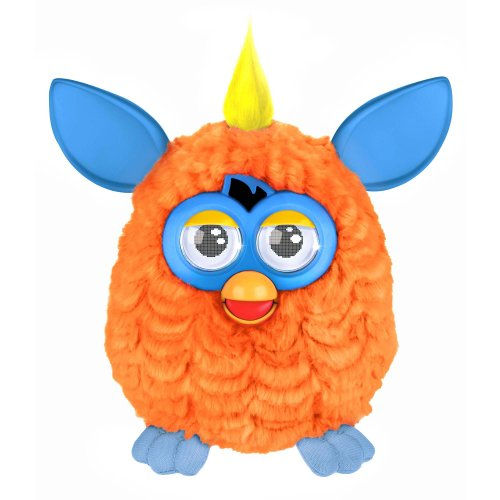 Hasbro – A3121 – Furby – Orange & Bleu – Version Anglaise (Import Royaume-Uni)