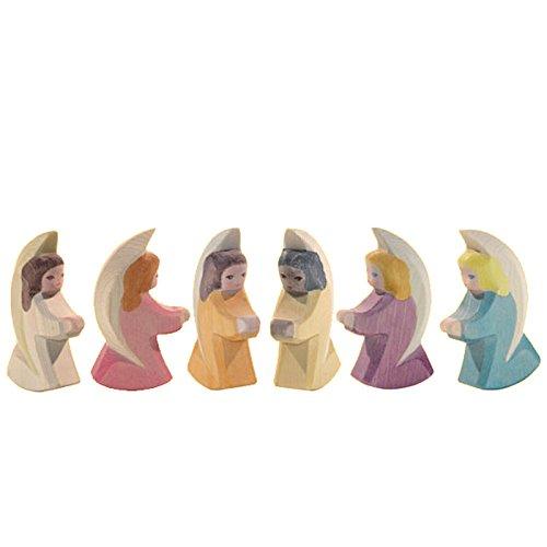 Engelchen Schutzengelchen Schutzengel 6 verschiedene Ostheimer Set 42010