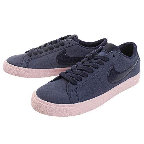 Nike Zoom Blazer Low 864347 402 Sneaker Damenschuhe Schuhe Turnschuhe Sportschuhe Navy rosa (EUR 37,5)