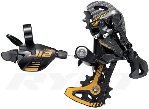 LTWOO - Set completo di leva del cambio AT12 12S a 12 velocità, cambio in carbonio MTB Groupset per cambio bicicletta per M7100 M8100 M9100 Eagle