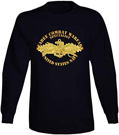 2XLARGE - Navy Seabee Combat Sale SALE% OFF Warfare Badge W Of Lon Txt Spec Max 65% OFF