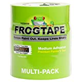 FROGTAPE 240661 Multi-Surface Painter's Tape with PAINTBLOCK, Medium Adhesion, 1.88 Inches x 60 Yards, Green, 3 Rolls