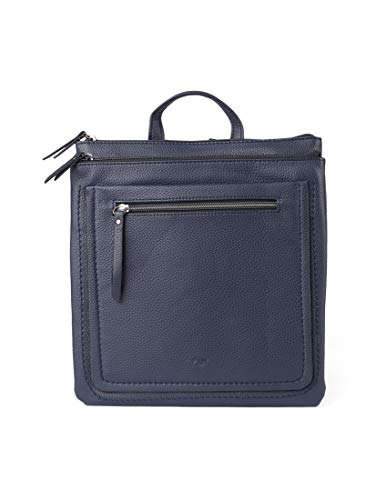 TOM TAILOR Rucksack Damen Becky, (Blau), 26.5x29x4 cm,  TOM TAILOR Rucksackhandtasche, Damenrucksack,handtasche rucksack damen