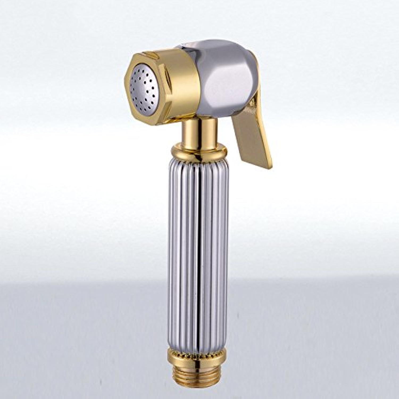 GFEI Point gold sanitary ware, hand toilet flush shower   women sanitary pet shower nozzle