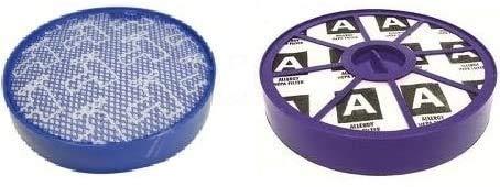 Kit de filtres HEPA anti-allergie compatibles avec Dyson DC19 DC20 DC21 DC29 Filtre pré-moteur et filtre post-moteur classe de filtre H13 nouveau modèle