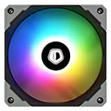 ID-COOLING NO-12015-XT-ARGB Case Fan 15mm Thickness PWM Fan 5V 3 PIN Addressable RGB Fan Slim Fan for Radiator/CPU Cooler/Computer Case