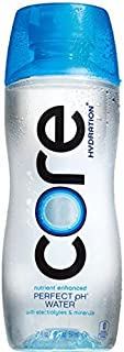 Core Hydration Nutrient Enhanced Water, 20 Ounce(Pack of 12)
