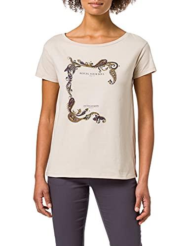 Sisley T-Shirt 3I1XL12Q8, Rosa 3A6, S Donna