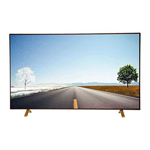 ZFFSC TV de Calidad HD Smart Full HD LED TV, TV de 4k Internet, (32 Pulgadas / 39/43 / 50/55/58), Vidrio a Prueba de explosiones, WiFi, Multi-Interfaz, Montaje en Pared TV de Calidad HD