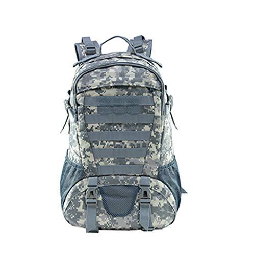 WARMWORD Outdoor Backpack Military Tactical Camping Hiking Trekking Backpack Large Capacity Bag Multifunctional Travel Backpack Picnic Canvas Bag 45L