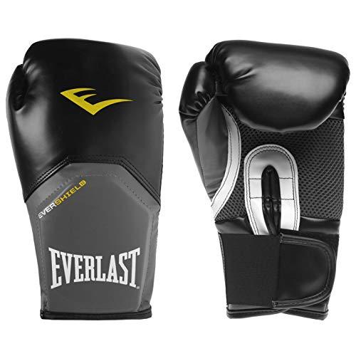 Everlast Unisex Elite Training Handschuhe Schwarz/grau 16oz