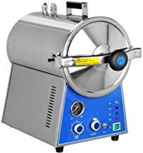 Zgood 24L High Pressure Stainless Steel Steam Autoclave Sterilizer for Lab Beauty Equipment