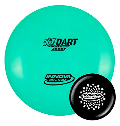 Innova Disc Golf XT Dart Disc Putter with Limited Edition Stars Stamped Innova Mini – Colors Will Vary (165-169g)