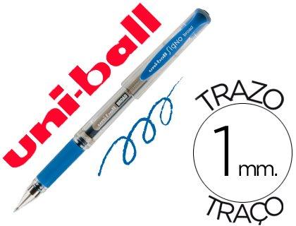 Boligrafo uni-ball um-153 signo broad azul 1 mm tinta gel (12 Ud.)