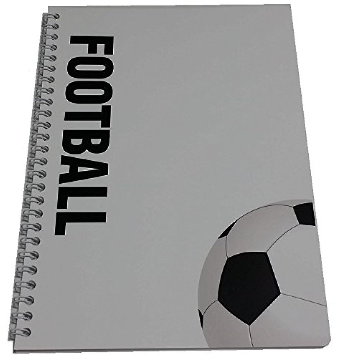 サッカーノート Wリングタイプ B5サイズ 5冊
