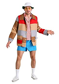 Fear and Loathing in Las Vegas Raoul Duke Costume Plus Size 2X Red