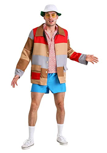 Deluxe Fear & Loathing in Las Vegas Raoul Duke Plus Fancy Dress Costume 3X