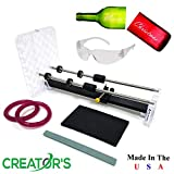 Creator's Glass Bottle Cutter Bundle - Precision DIY Pro Series W/Carbide...