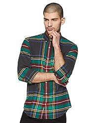 GAP Mens Plain Slim fit Casual Shirt