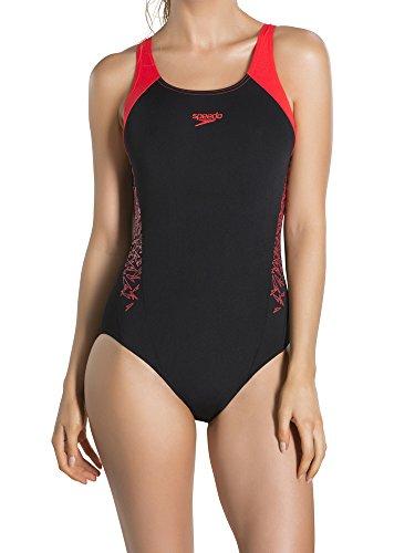 Speedo Damski strój kąpielowy z wysięgnikiem typu Boom Splice Muscleback