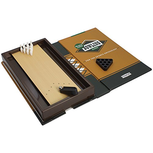 Desktop Edition Mini Bowling Game Book-Sized Fun For The Sports...