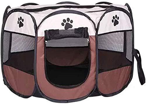 DGHJ Huisdier Nest, Zwangere Kat Productie Eigendom Box/Cat Productie Kamer/Hond Fokkerij Tent/Hond Productie Leveringen/Vruchtbaarheid genesteld, L, Koffie