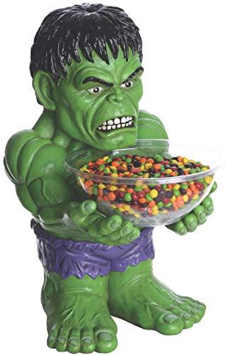 Marvel - Portacaramelos con figura de Hulk (Rubie's 35671)