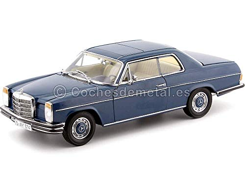 1973 Mercedes Benz Strich 8 280C Coupé W114 Dark Blue 1:18 Sun...