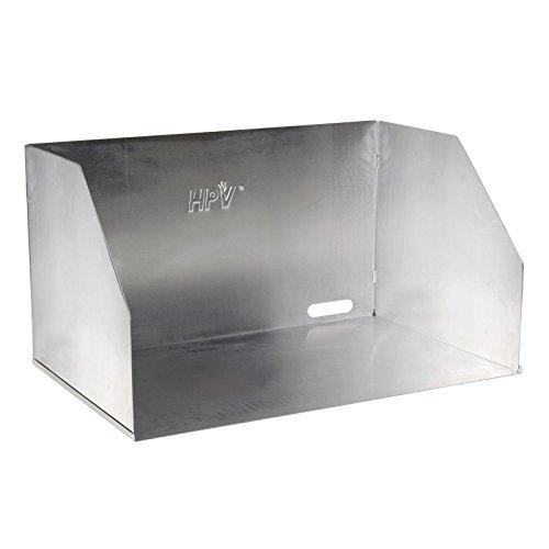HPV Gaskocher Windschutz, Aluminium, silber, 65x39x30 cm