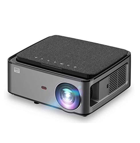 SMSOM Proiettore di videoproiettore Projector 1080P Full HD HD, Mini proiettore filmato Compatibile per Home Cinema & Outdoor Movie