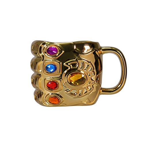 Half Moon Bay Avengers Thanos Tasse Infinity Gauntlet 3D 550ml Marvel Keramik