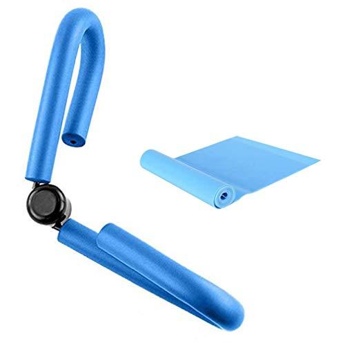 YNXing Oberschenkel-Trimmer, dünner Körper/Oberschenkel-Toner, Arm- und Beintrainer, Heimtrainer, ideal für Gewichtsverlust und dünne Oberschenkel, Blau 2