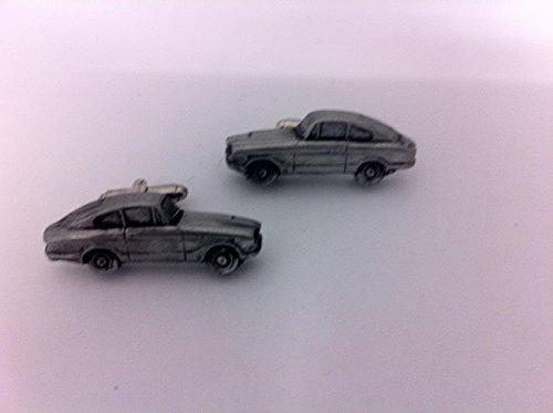 Bond Equipe GT4S 3D Boutons de manchette Boutons de manchette voiture classique effet étain ref29