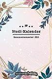 Studi-Kalender – Sommersemester 2021: Studienplaner, Terminkalender und Semesterübersicht von März 2021 bis September 2021 (Semesterkalender und Organizer für Studenten, rosa)