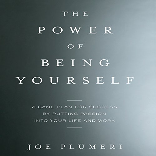 The Power of Being Yourself audiobook cover art