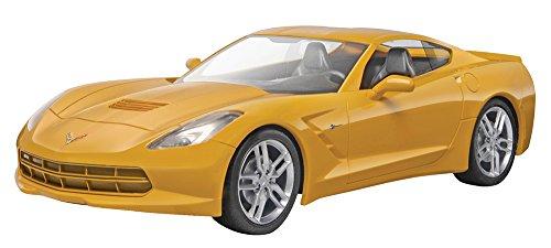 Revell Monogram Maquette Snaptite de Voiture 2014 Corvette Stingray Echelle 1 : 25, 85-1982, Multicolor