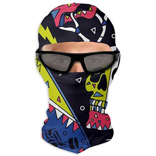 N/A Full Face Beschermende film Skateboard, schedel, helm Drawing Hood Sunscreen Dual Layer Koud voor mannen en vrouwen