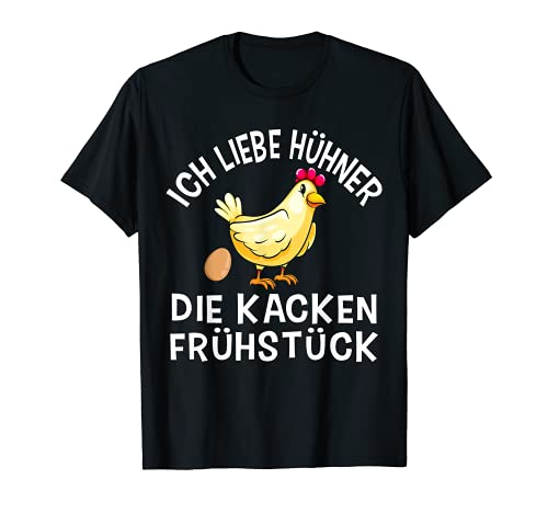 Funny Chicken Spruch Bäuerin Bauern Huhn Henne Hahn Hühner T-Shirt