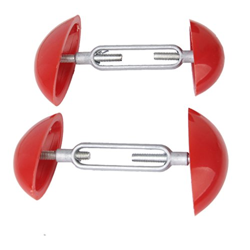 2pz Footful Mini Allargascarpe Tendiscarpe Shapers Larghezza Estensori Regolabili Per Le Scarpe