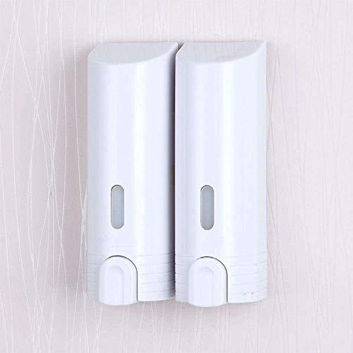 YuKeShop Dispensador de jabón de espuma de jabón montado en la pared - Dispensador de jabón para cocina y inodoro montado en la pared del hogar, prensa manual en el hotel, lugares públicos, baño