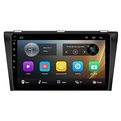 NBVNBV 2G 32G Android 8.1 Autoradio Multimedia Video Player Auto GPS Navigation Fit für Mazda 3 2004-2013 Maxx Axel 2 Din Wi-Fi Spiegel Link,M4 16g