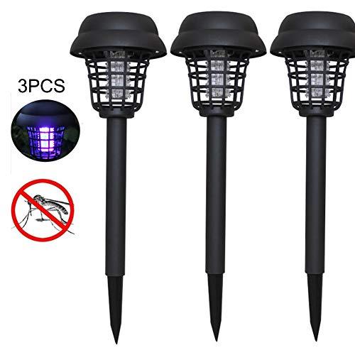 1 / 4PCS Lámpara LED De Insecticida De Energía Solar - Mosquito...