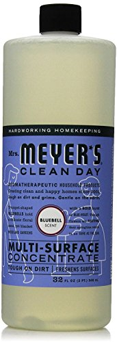Mrs. Meyer's Clean Day Multi-Surface Concentrate, Bluebell Scent, 32 ounce bottle