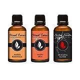30ML - Trio (3) - Amber Romance, Happy Men & Dragons Blood - Premium Fragrance Oil Trio - 30ML