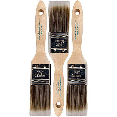 Pro Grade - Paint Brushes - 3Ea 1.5