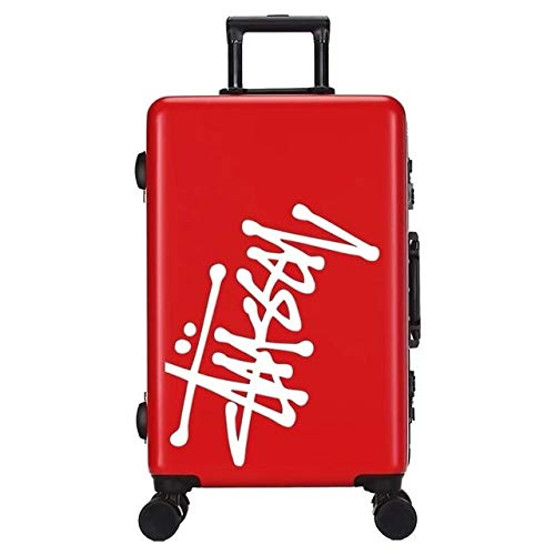 Mdsfe Fashion 20/24/26 Inch PC durable Rolling Luggage Men Spinner brand business Travel bag Trolley Suitcase, 20'